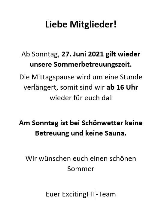 Sommerbetreuungszeiten21